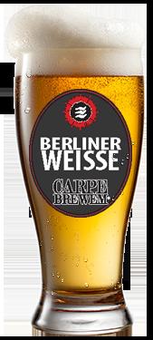 carpe brewem berliner weisse empyrean brewing co. Black Bedroom Furniture Sets. Home Design Ideas