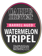 CB-WatermelonTripel BarrelAged