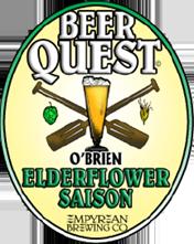 BQ ElderflowerSaison OBrien