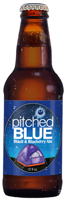 Pitched Blue Black & Blueberry Ale