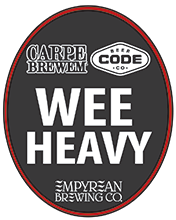 CB-Wee Heavy Collaboration Brew with Code Beer Co