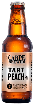 CB-Tart Peach Ale Bottle