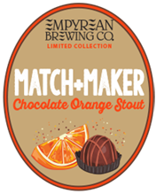 Match Maker Chocolate Orange Stout oval logo 2018