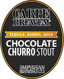 CB-Barrel Aged Tequila Chocolate Churro Stout