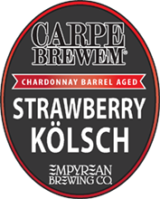 CB-Chardonnay Barrel Aged Strawberry Kolsch