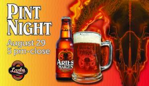 Aries Marzen Oktoberfest Lager Release! @ Lazlo's - South