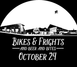Bikes and Frights - and beer and bites! - @ Empyrean Warehouse