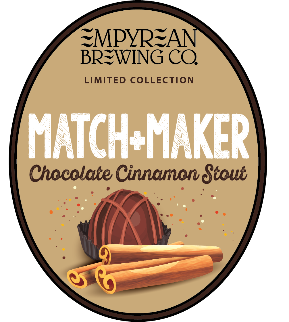Match Maker Chocolate Cinnamon Stout Oval Logo