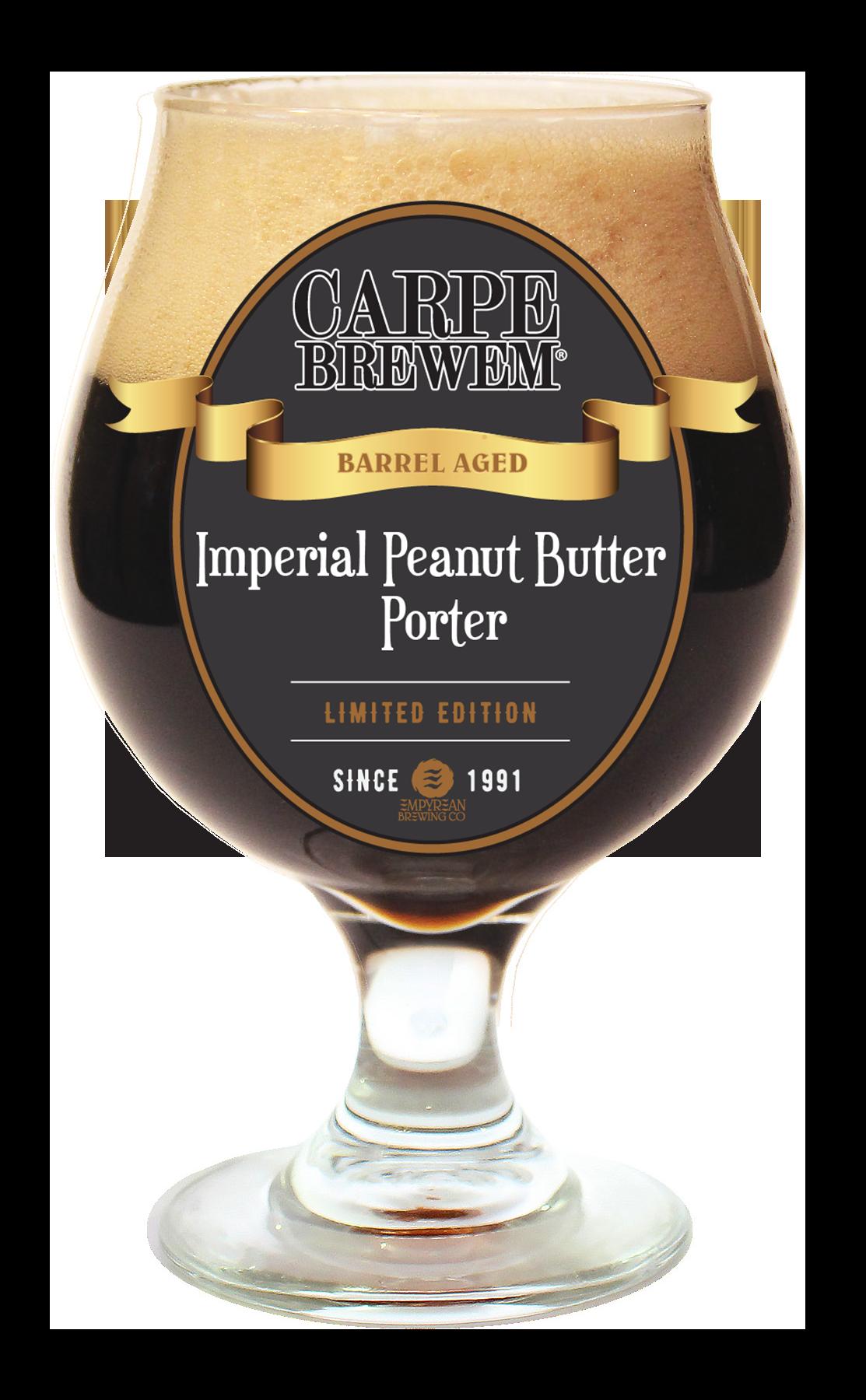 carpe brewem rum imperial pb porter
