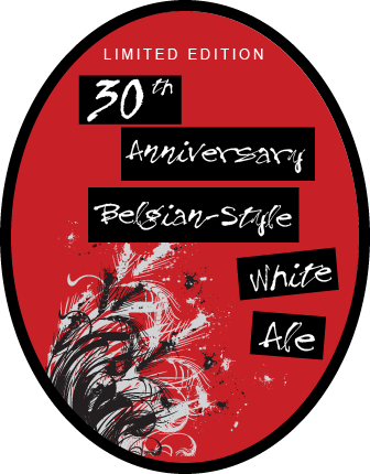 30th Anniversary Ale Tap Sticker