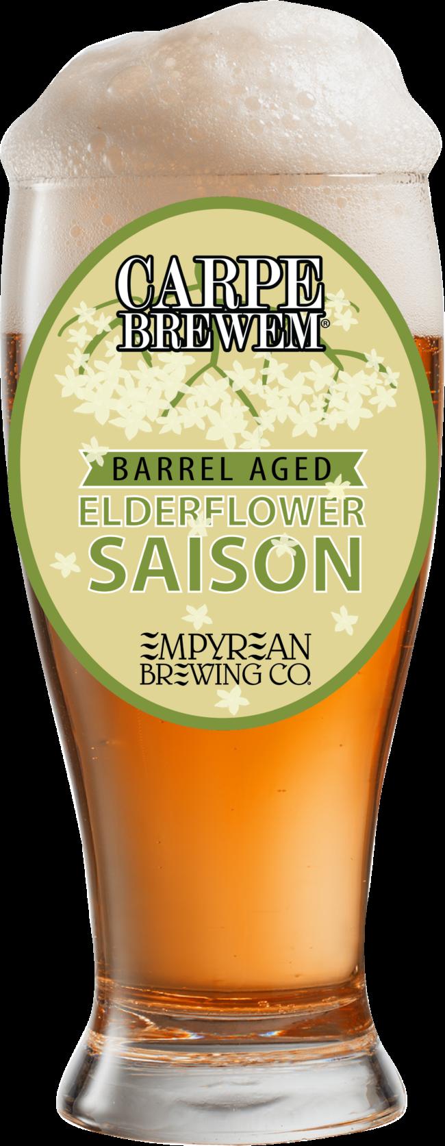 Barrel Aged Elderflower Saison