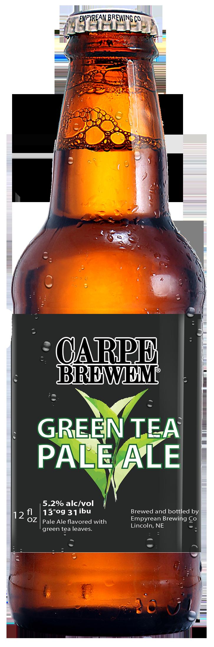 CB- Green Tea Pale Bottle